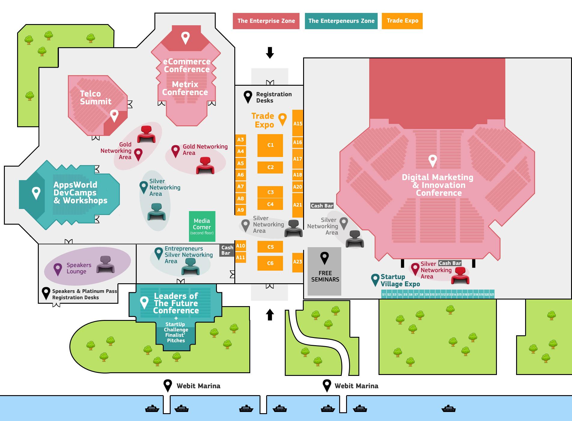 Webit Congress 2013 Floorplan
